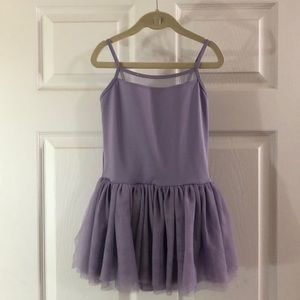 Other - Purple Girls leotard with tutu
